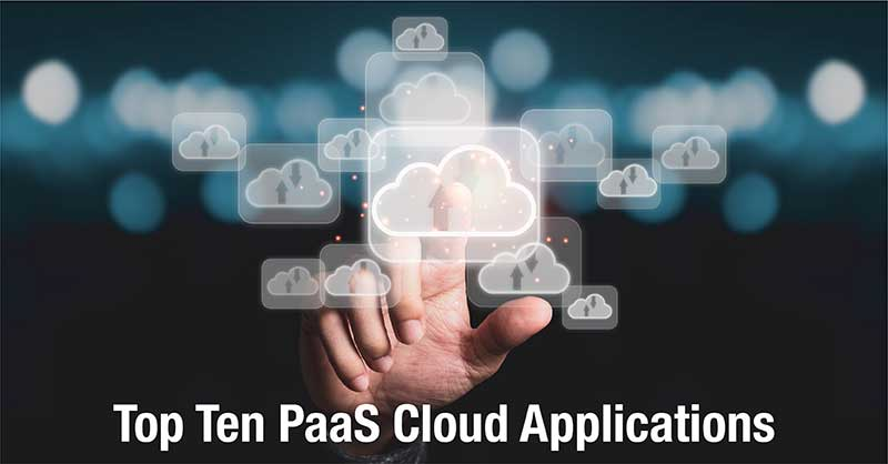 PaaS Top Ten Cloud Applications featured image