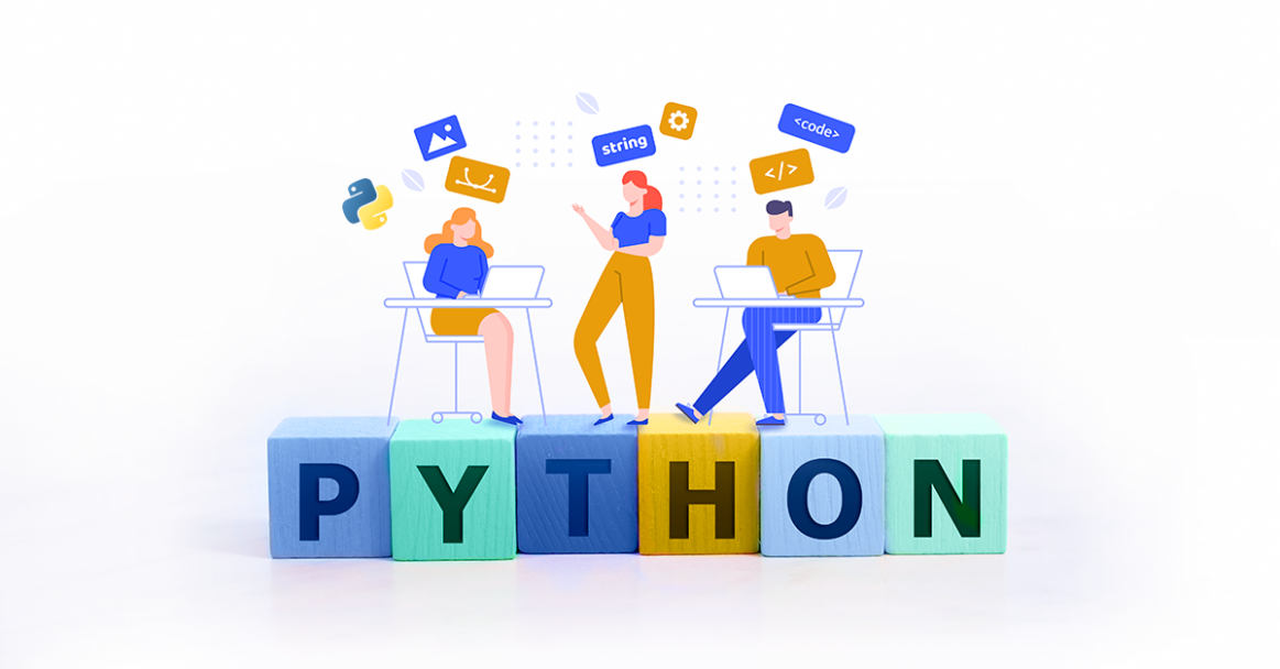 Python features image
