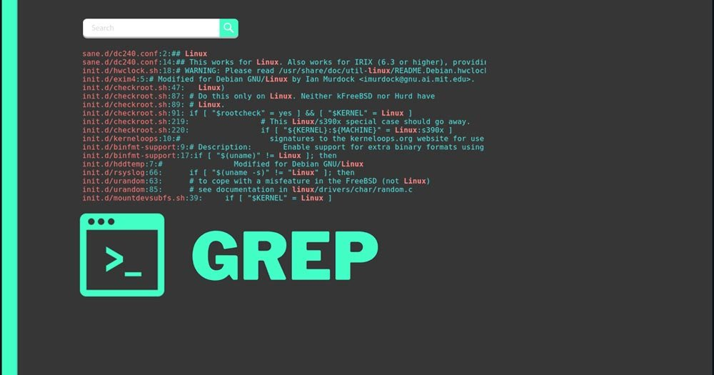 Grep featured image