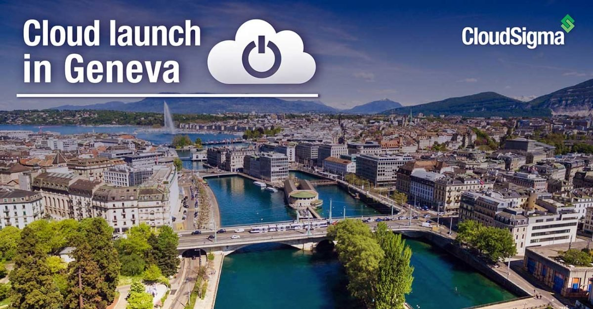 CloudSigma in Geneva