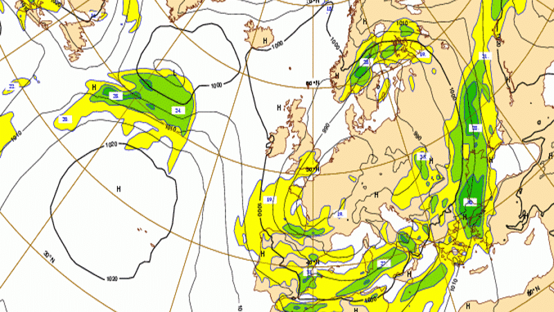 weather forecast cloud ECMWF image