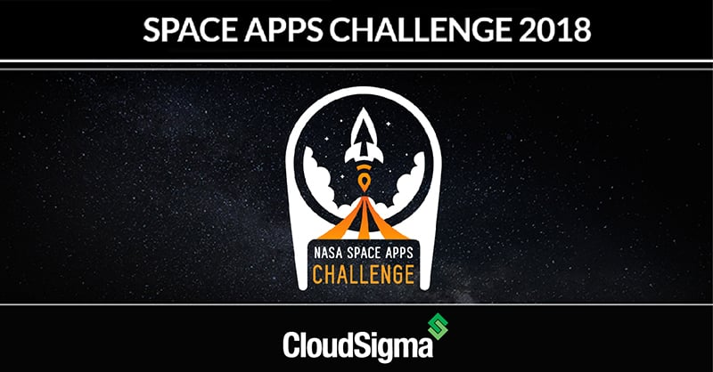 Space Apps Hackathon CloudSigma Sponsorship
