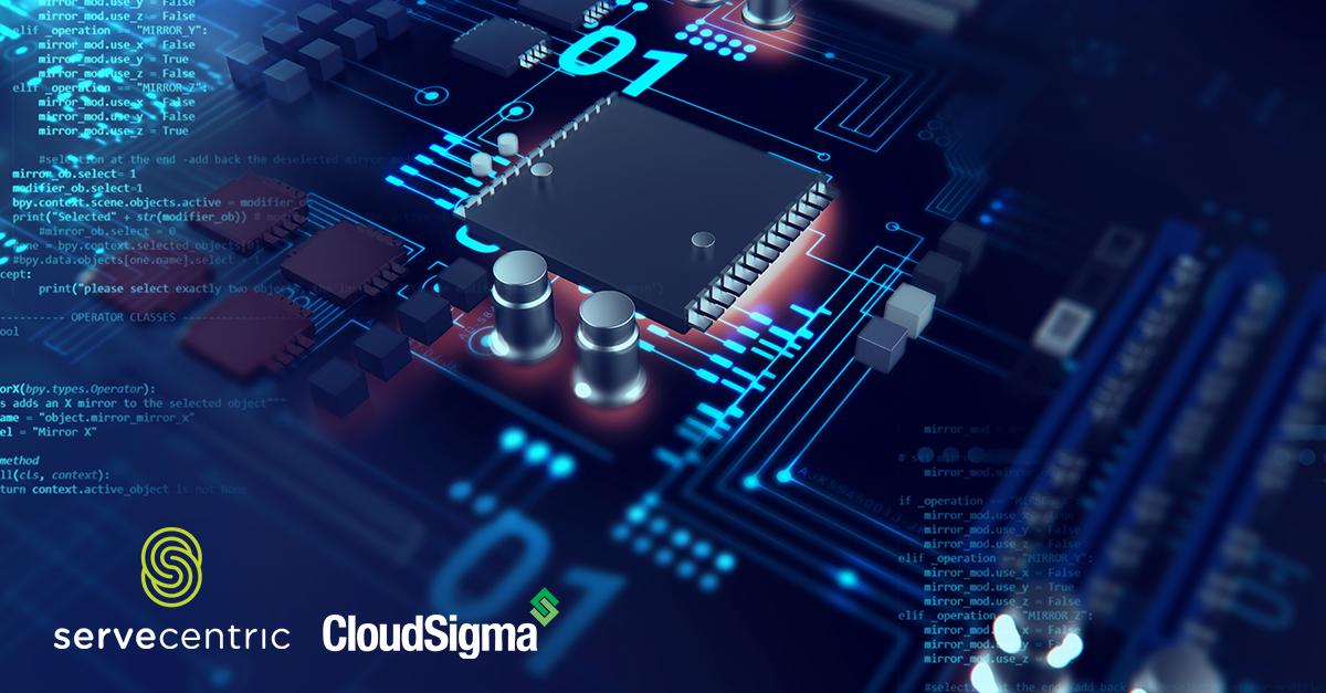 cloud partner Servecentric